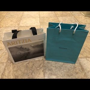 New Authentic Tiffany Paper Bag